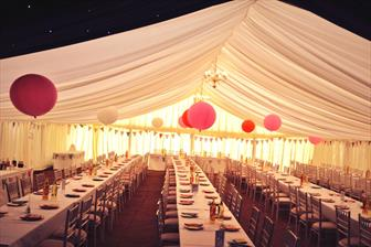 Summer Marquee Wedding